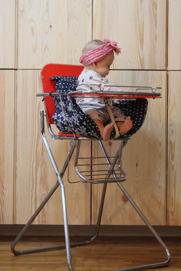 Chaise Haute Vintage Bb DIY