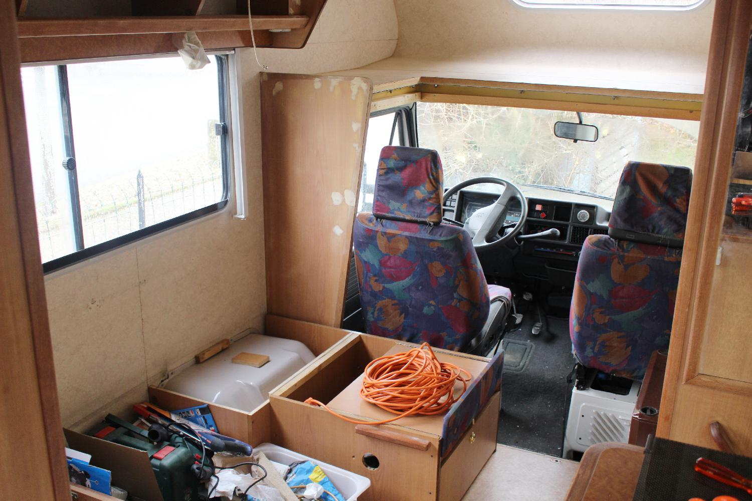 Comment avons nous choisi notre camping car for Interieur camping car