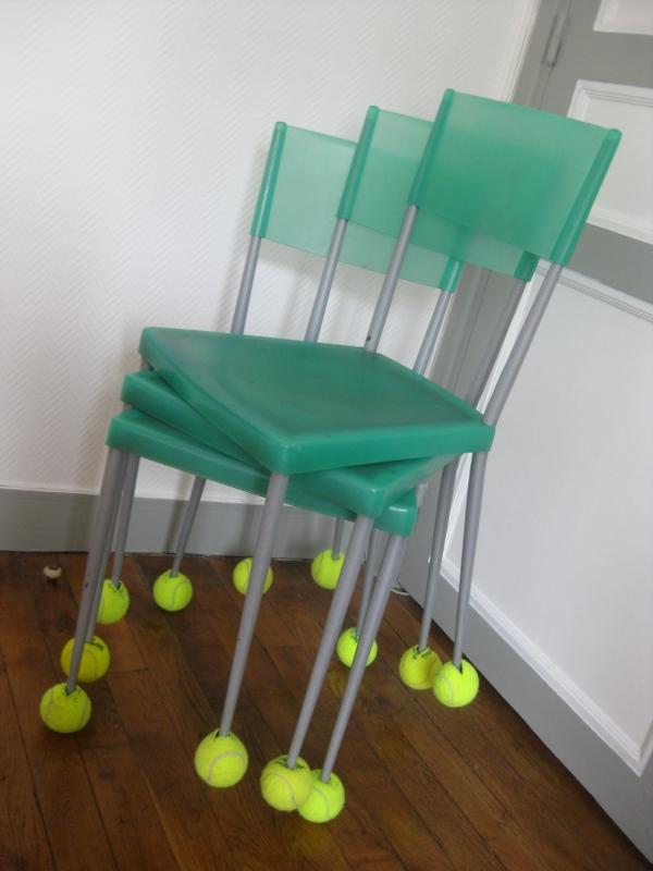 diy les patins de chaises. Black Bedroom Furniture Sets. Home Design Ideas